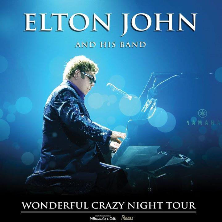 Elton John a Piazzola