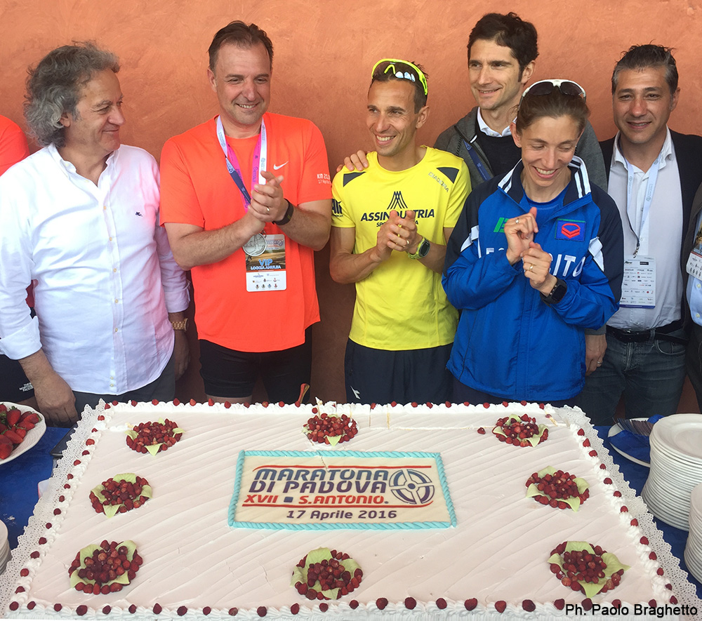 torta Maratona Santo 2016